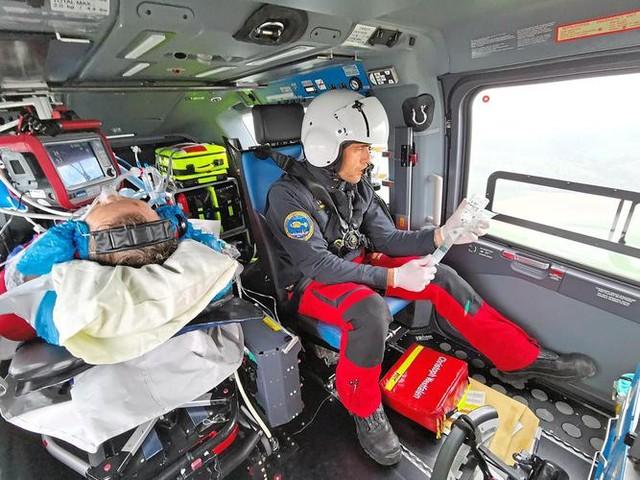 Münsterland: Ein Tag im ADAC-Rettungshubschrauber