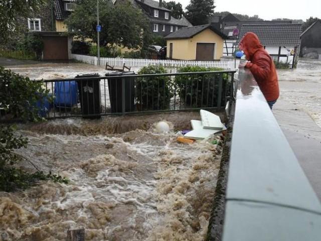 Mehrere Tote bei Unwettern - Häuser in der Eifel eingestürzt, mindestens 30 Menschen vermisst