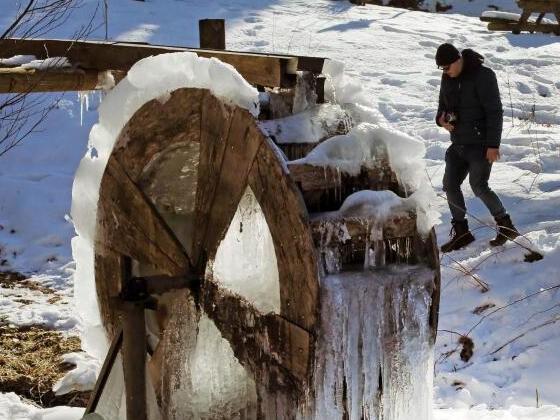 Temperaturen bis minus 20 Grad: Deutschland eiskalt