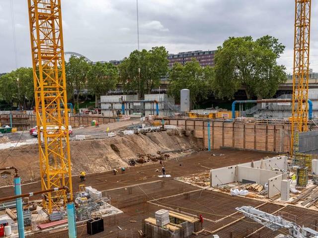 Baubranche vermeldet Auftragszuwachs im Juli