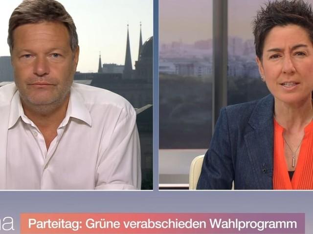 """ZDF-Sendung - Robert Habeck im Moma: """"... dann ist die CDU die Verbotspartei!"""""""