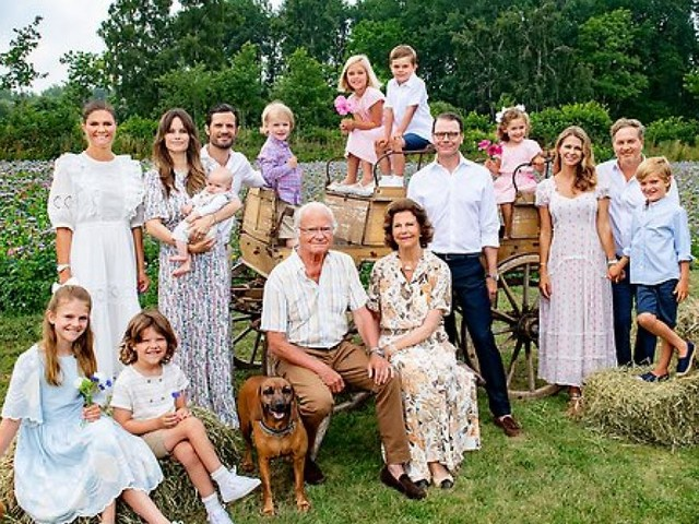 Schweden-Royals: Neues Familienportrait ist eine echte Ausnahme