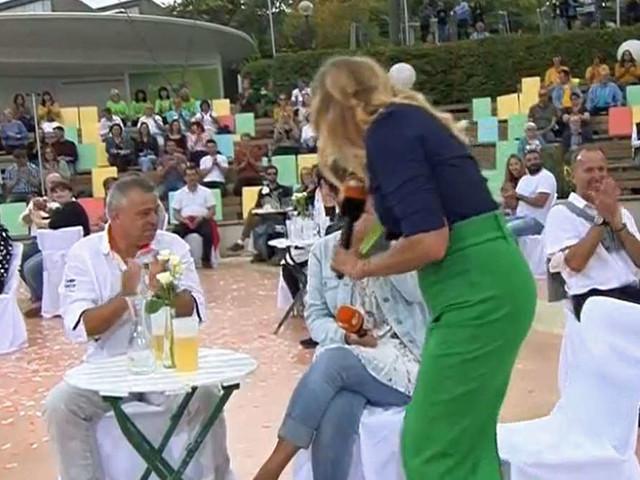 ZDF-Fernsehgarten: Kiwi kommen Tränen, als sie SIE entdeckt - dann wird Zuschauerin plötzlich Hauptfigur der Show