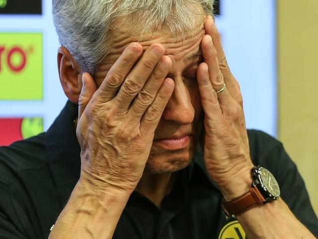 Bei Borussia Dortmund braut sich etwas zusammen – die Kritik an Coach Favre wächst