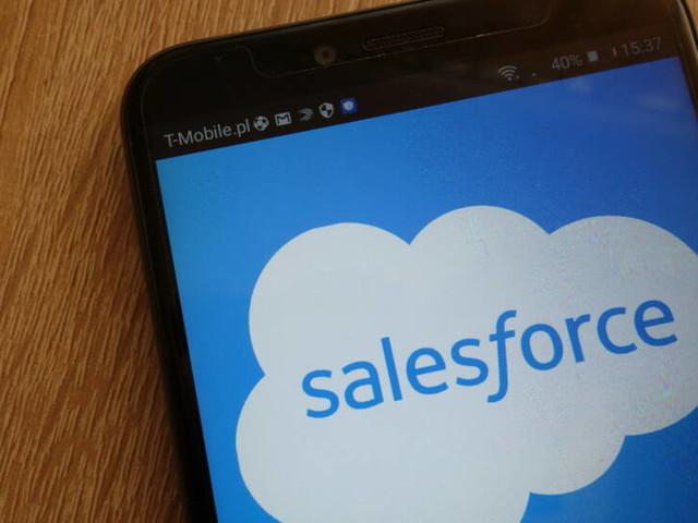 Unser Robot zum Dow: salesforce.com führt starken Donnerstag an