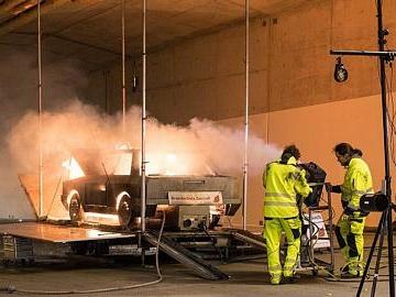 A 3-Ausbau: Mit viel Technik gegen Flammen und Rauch