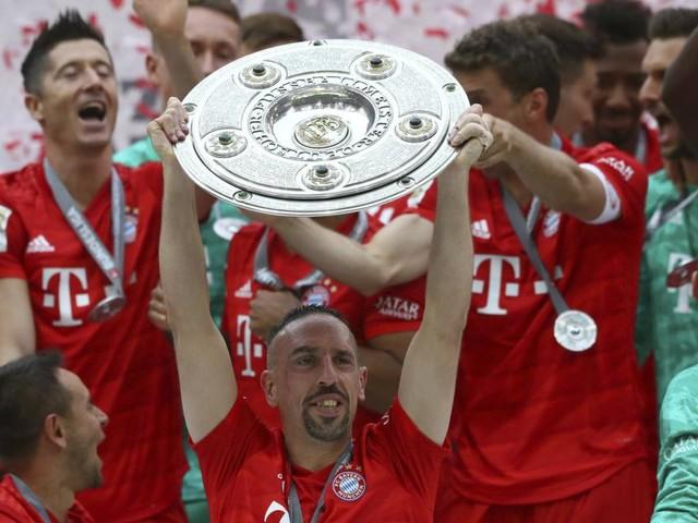 """Alaba und """"Robbery"""" treffen bei Bayerns Titel-Märchen"""