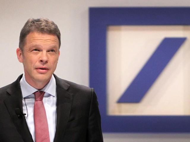 Vom Deutsche-Bank-Lehrling zum Chef über 90.000 Mitarbeiter