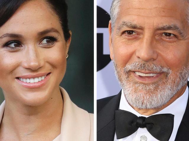 """George Clooney in Sorge um Meghan: """"Sie wird gejagt wie Diana"""""""