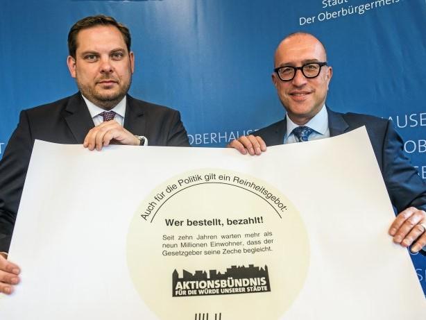 Steuer-Vorhaben: Oberhausen will alle Steuerzahler ab 2022 entlasten
