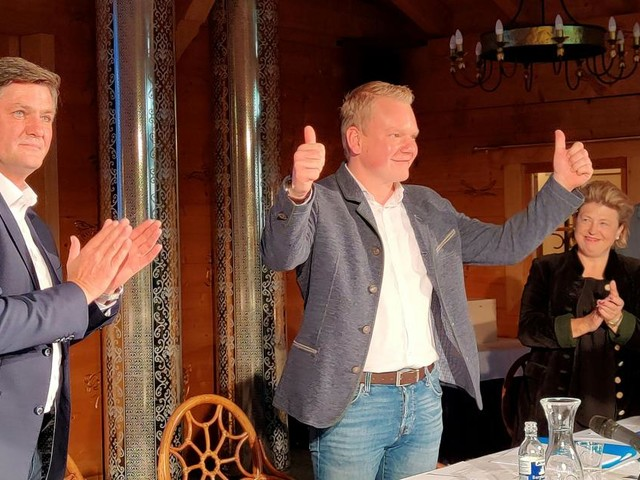 Bitschi mit 99,1 Prozent als Vlbg. Landesparteiobmann wiedergewählt