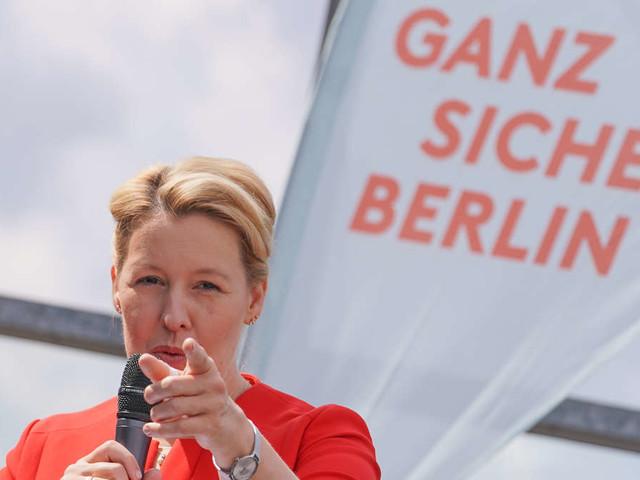 Berlin-Wahl 2021 live: Ex-Ministerin Giffey will Bürgermeisterin werden - CDU erneut in der Opposition?