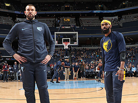 NBA: Grizzlies wohl bereit für Gasol/Conley-Trade