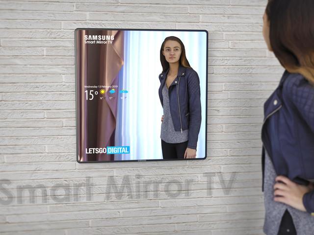 Spiegel oder Smart TV: Samsung bietet beides auf einmal