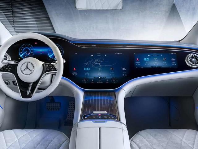 Mercedes EQS: Neue elektrische S-Klasse – starke Konkurrenz zu Tesla