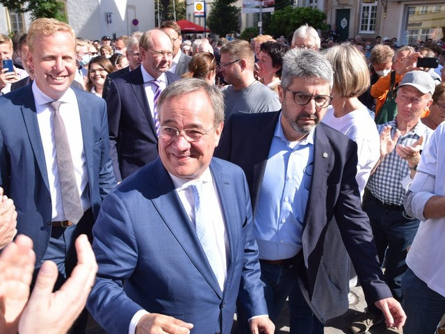 Laschet warnt auch in Warendorf vor einem rot-rot-grünen Bündnis