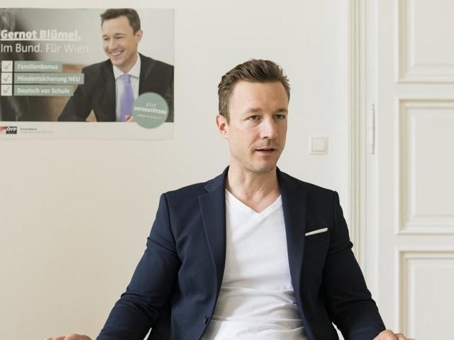 "Gernot Blümel: ""Völlig wurscht, auf welchem Sessel Kickl sitzt"""