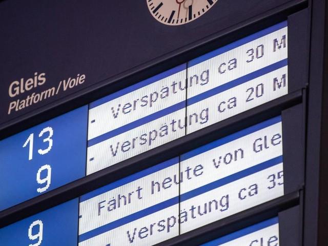 Jeder vierte Zug kommt zu spät: Bahn verfehlt Pünktlichkeitsziel erneut