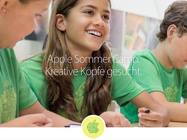 Apple Sommer Camp 2017: Kostenlose Workshops für Kinder