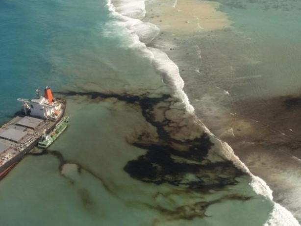 Ökologisches Desaster: Havarierter Frachter vor Mauritius auseinandergebrochen
