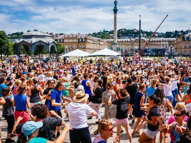 Tanzfestival Colours brachte Bewegung: Mittendrin