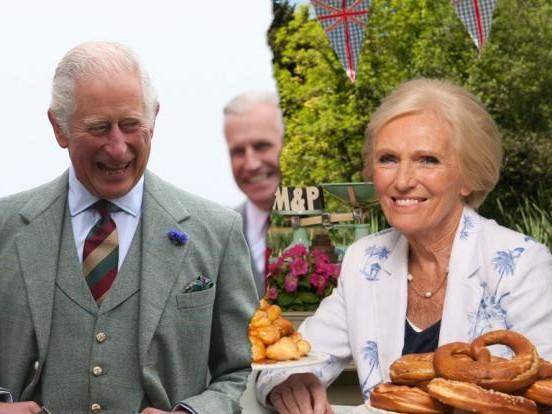 """Prinz Charles und Mary Berry: Süße Versuchung! """"Königin der Kuchen"""" wickelt Thronfolger um den Finger"""