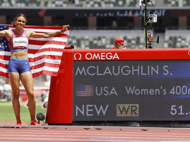 Nächste Weltrekord-Show bei Olympia: Hürden-Star McLaughlin holt Gold