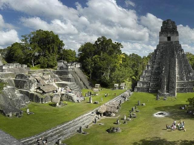 Maya vergifteten ihr eigenes Wasser