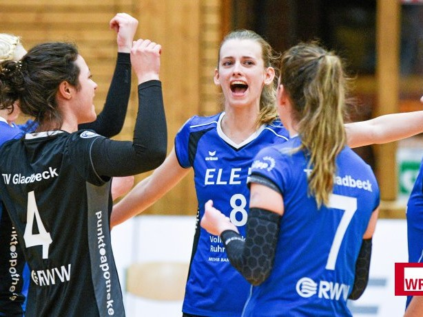 Volleyball: 3:0 - TV Gladbeck entzaubert den Tabellenführer aus Borken