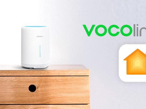 VOCOlinc Ripple: Kompakter Aroma-Diffuser mit HomeKit-Anbindung