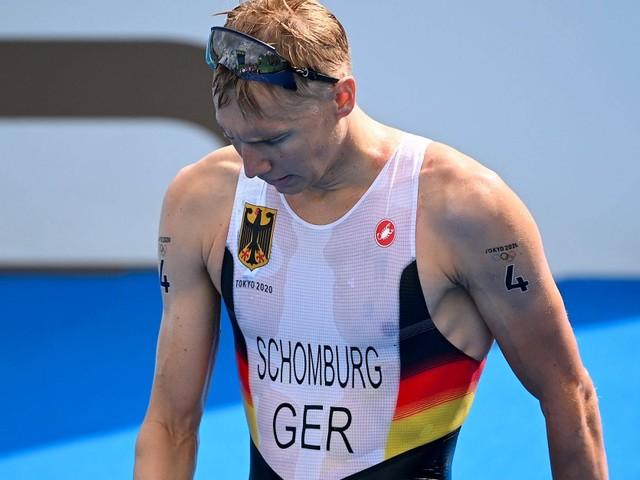 Sturz mit Rad, bei Lauf chancenlos: Deutsche Triathleten enttäuschen bei Olympia