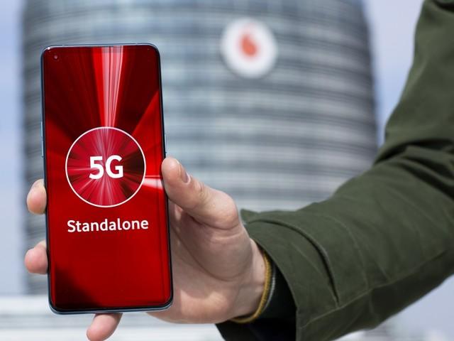 5G Stand Alone: Vodafone startet bundesweit echtes 5G-Netz