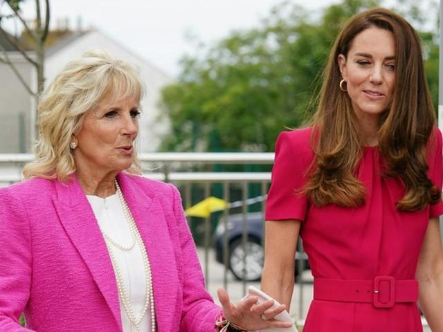 Jill Biden: First Lady trifft Herzogin Kate