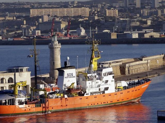 "Rettungsschiff ""Aquarius"" in Marseille eingetroffen"