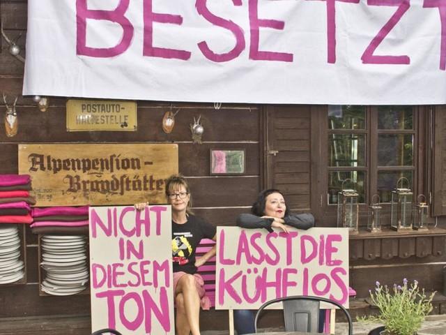 Julya Rabinowich: Protest auf der Kärntner Kunst-Alm