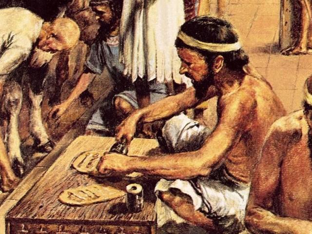 Unterschätzte Meisterleistung: Die Entwicklung der Schrift