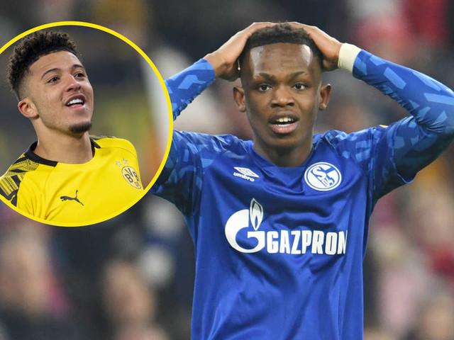 Schalke-Profi Rabbi Matondo trainiert im BVB-Trikot - Fans und Jochen Schneider reagieren verärgert