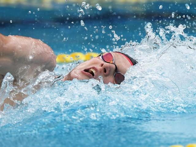 Topschwimmer Auböck siegte in Stockholm über 800 m Kraul mit OSV-Rekord