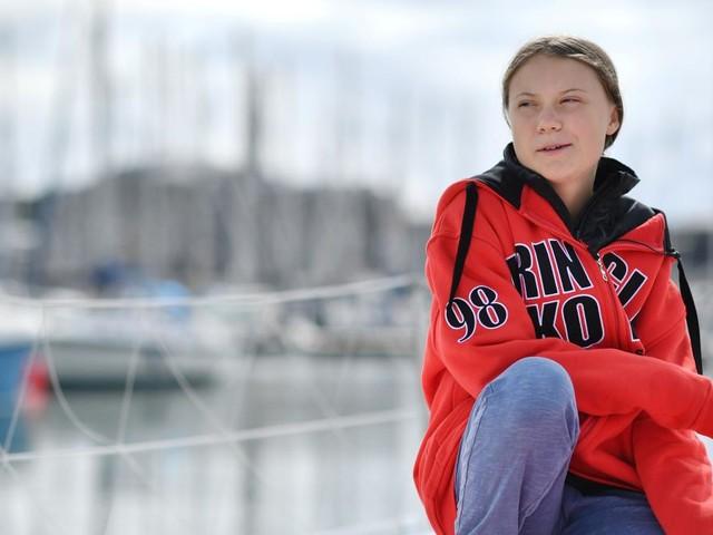 Greta Thunberg trifft letzte Vorbereitungen für ihre Segelreise