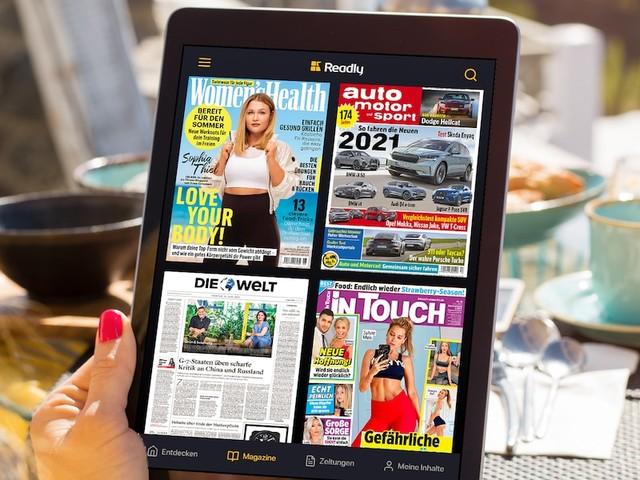Shopping-Deal mit FOCUS Online - Mit Readly über 5000 Magazine und Zeitungen lesen - drei Monate für nur 0,99 Euro sichern!