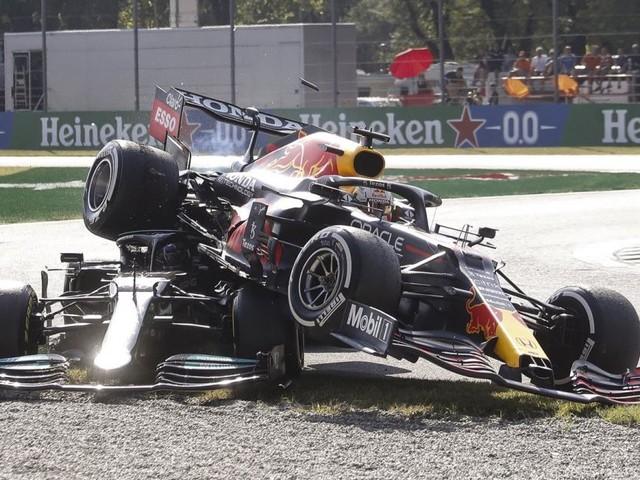 WM-Duell eskaliert: Monza-Crash zwischen Hamilton und Verstappen