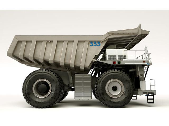 MTU Hybrid Mining Truck Concept: Mit Hybrid-Power in die Mine