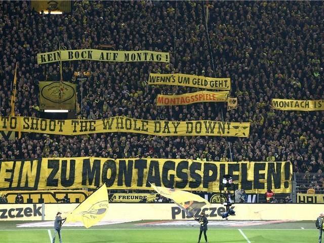 Nürnberg gegen den BVB: Ultras protestieren erneut gegen Montagsspiele