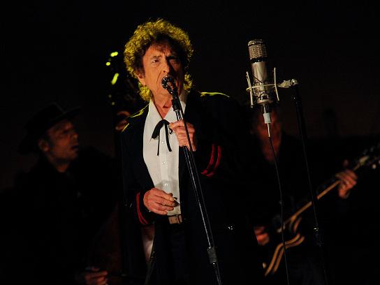 """Handy-Hasser Bob Dylan: """"Wollt Ihr, dass wir spielen oder posieren?"""""""