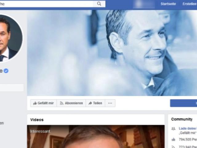 Österreich: FPÖ nimmt Ex-Parteichef Strache die Facebook-Seite weg