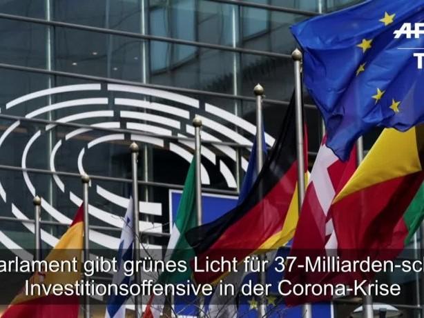 Corona-Krise: EU-Parlament gibt grünes Licht für Milliardenoffensive
