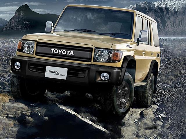 Toyota Land Cruiser J7 (2021): Facelift, Anhängelast, gebraucht Facelift für den 37 Jahre alten Toyota Land Cruiser J7