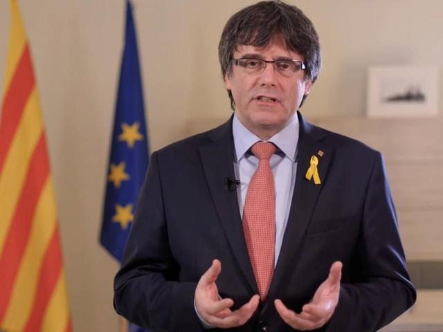 Nach Haftbefehl: Puigdemont stellt sich belgischer Polizei