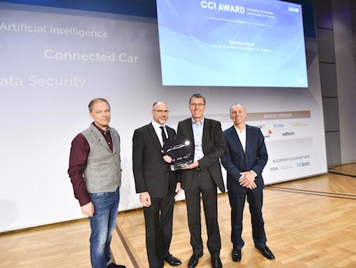 Daimler erhält CCI-Award 2017