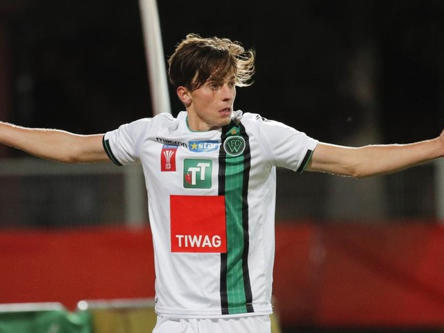 Salzburg verpflichtet Albert Vallci von Wacker Innsbruck